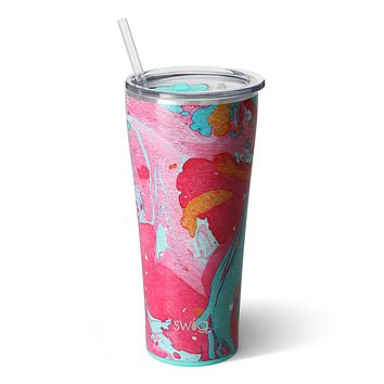 Swig Cotton Candy 32oz Tumbler with Straw