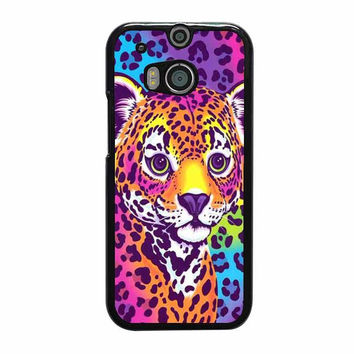 lisa frank hunter the leopard htc one cases m8 m9 xperia ipod touch nexus