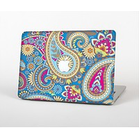 The Blue & Pink Layered Paisley Pattern V3 Skin Set for the Apple MacBook Pro 13""