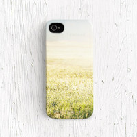 Nature iphone 4 case landscape iphone 5 case Grass iPhone 4s Photography iphone 5 case simple iphone 4 case Photo iphone 5 case leaf /c198