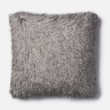 Loloi Grey Decorative Throw Pillow (P0470)