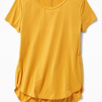 Relaxed Tulip-Hem Tunic for Girls | Old Navy