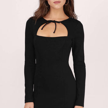 Valley Bolo Tie Bodycon Dress