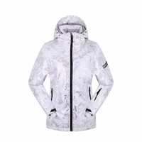 ROYALWAY Women Ski Jacket Waterproof  Safety Windproof Snowboard Coat Adjustable Hood Super Warm Jacket #RFSL4498G