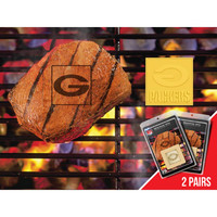 Green Bay Packers NFL Fan Brands Grill Logo(2 Pack)