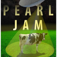 Pearl Jam Out of This World Poster 11x17