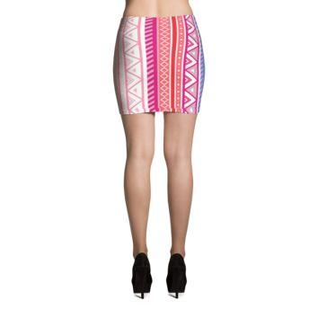 Aztec Mini Skirt - MC 2B