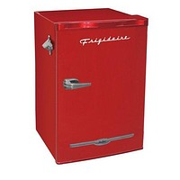 Black,Red,Blue,Pink 3.2 Cu. Ft. Small Mini Compact Dorm Room Refrigerator w Bottle Opener