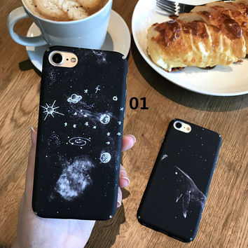 Universe Astronaut Case for iPhone 7 7Plus & iPhone 6 6 Plus High Quality Cover  -0323