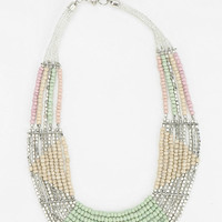 Fiji Beaded Bib Necklace