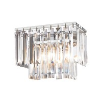 Palacial 1 Light Vanity In Polished Chrome