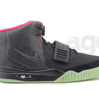 SoleStage - air yeezy 2 nrg : black/black-solar red