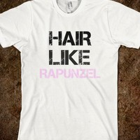Hair like Rapunzel - The Kay Designs