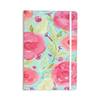 "Li Zamperini ""Spring"" Floral Pink Everything Notebook"