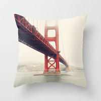 Golden Gate Bridge Throw Pillow by Bree Madden  | Society6