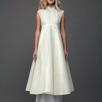 Pastel Yellow Organdie Dress | NOT JUST A LABEL