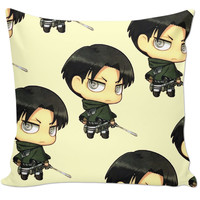 Levi Attack On Titan Pillow