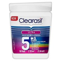 Clearasil Ultra 5 in1 Pads - 90 ct