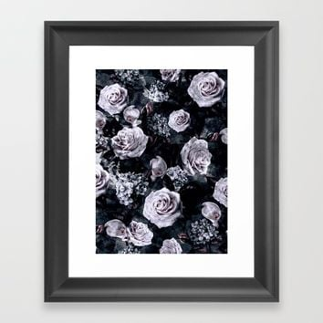 Dark Love Framed Art Print by RIZA PEKER