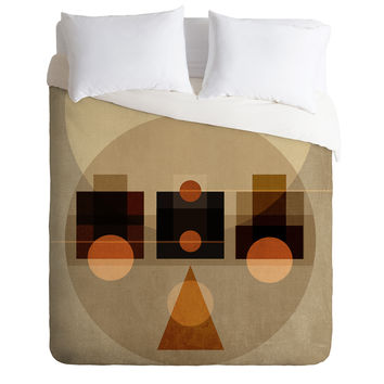 Viviana Gonzalez Geometric Abstract 2 Duvet Cover