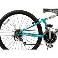 """Ozone 500® Women's Ultra Shock 26"""" 21-Speed Dual-Suspension Bicycle 