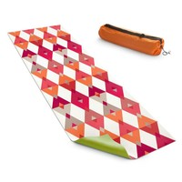 Yoga Mats By Julia Grifol Triangles Red