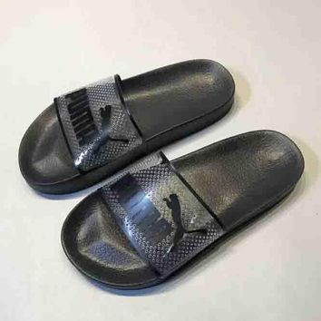 puma leadcat jelly slides women s sandal slipper shoes  number 2