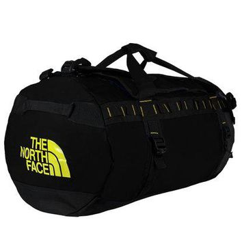 The North Face Base Camp Large Duffel Black/Yellow