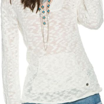 ROXY WARM HEART HOODED SWEATER