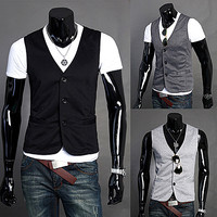 Casual Men Fashion Vest