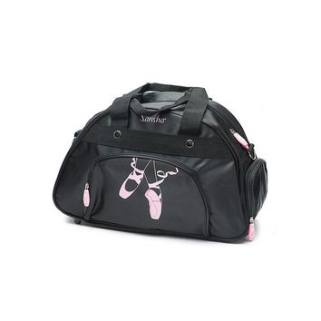 Sports gym bag Sansha 2017 New High Quality Ballet Dance Bag With Shoulder Straps Gym  KBAG31 KO_5_1
