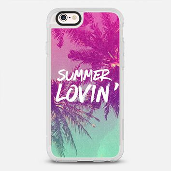Pink Green Ombre Sunset Beach Tropical Palm Trees Summer Lovin'  iPhone 6s case by hyakume | Casetify