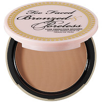 Bronzed & Poreless Poreless Pore Perfecting Bronzer - Too Faced | Sephora