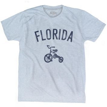 Florida State Tricycle Adult Tri-Blend T-shirt