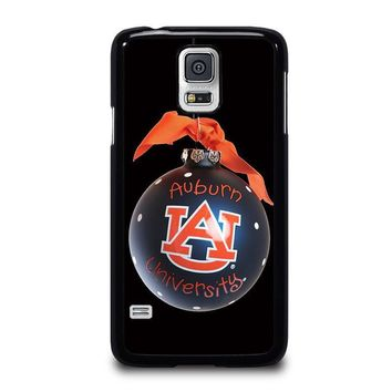 auburn university war eagle samsung galaxy s5 case cover  number 1