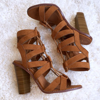 Warrior Bootie in Tan