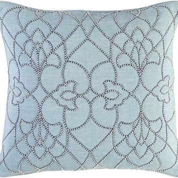 Surya Dotted Pirouette Throw Pillows