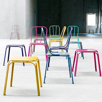 Downtown Stool Assorted Colours By Nordal