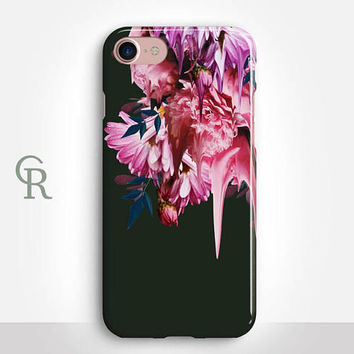 Floral Phone Case For iPhone 8 iPhone 8 Plus - iPhone X - iPhone 7 Plus - iPhone 6 - iPhone 6S - iPhone SE - Samsung S8 - iPhone 5 - Samsung
