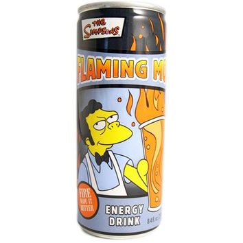Flaming Moe Energy Drink
