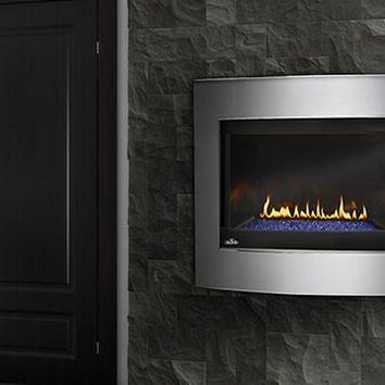 "Napoleon Crystallo BGD36 Direct Vent 40"" Electronic Ignition Fireplace"