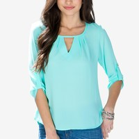 Madison Pleat Blouse