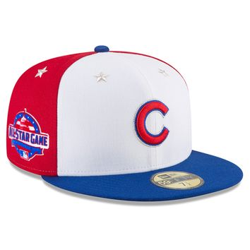 Chicago Cubs 2018 All Star Game On Field 59FIFTY Fitted Hat by New Era