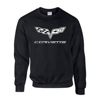 Corvette Chevy Racing Cars Adult vette  VINYL T Shirt TEE (Brand  New)