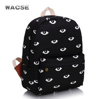 Stylish Fashion Travel Trendy Casual Canvas Backpack = 4887781252