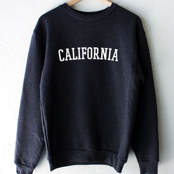 California Oversized Sweater - Dark Heather Grey