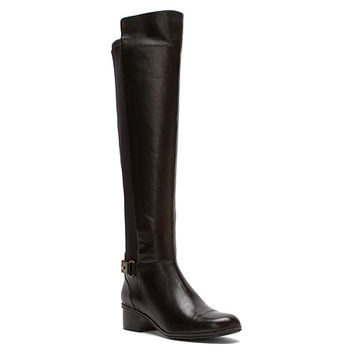 Bandolino Cuyler | Women's - Black Leather/Stretch