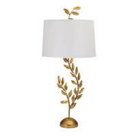 Jenkins Gold Leaf Table Lamp