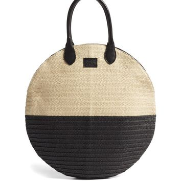 Brixton Amalie Straw Circle Tote | Nordstrom