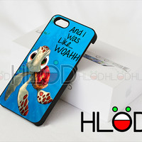 Squirt from Finding Nemo - iPhone 4/4s/5/5s/5c Case - Samsung Galaxy S2/S3/S4 Case - Black or White